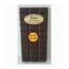 Tablette chocolat noir arôme orange 100gr