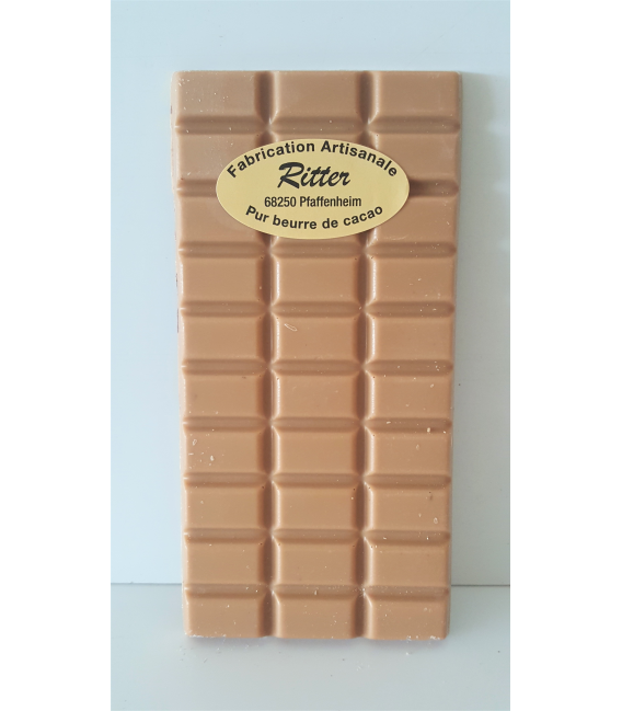 Tablette chocolat Dulcey 100gr